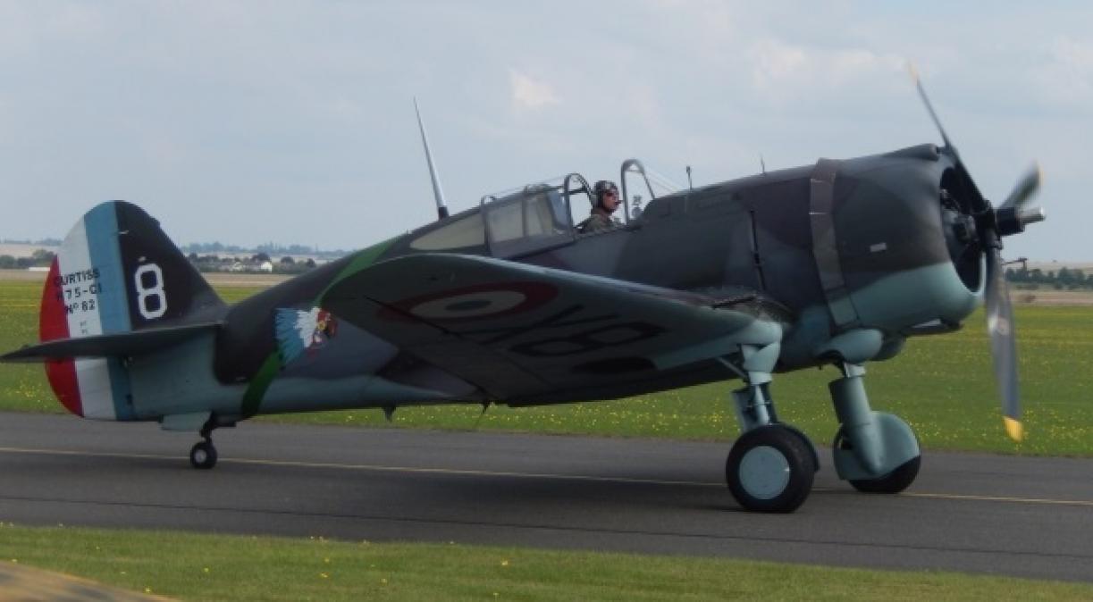 Curtiss Hawk at IWM Duxford
