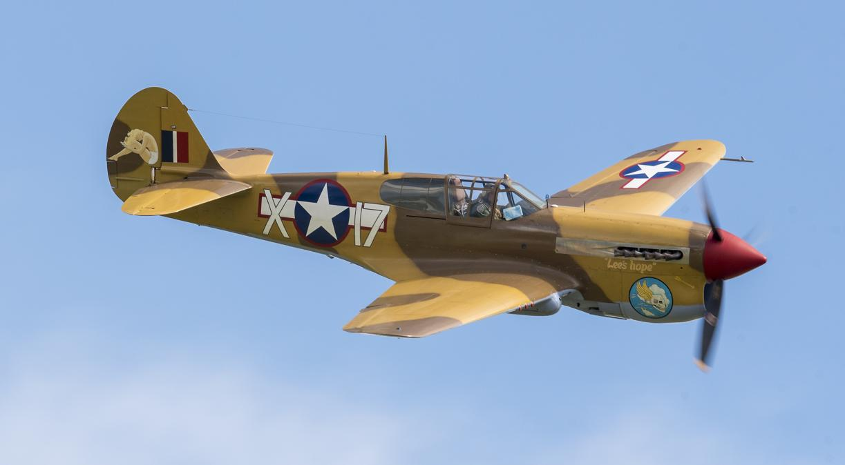The Fighter Collection's Curtiss P-40F Warhawk