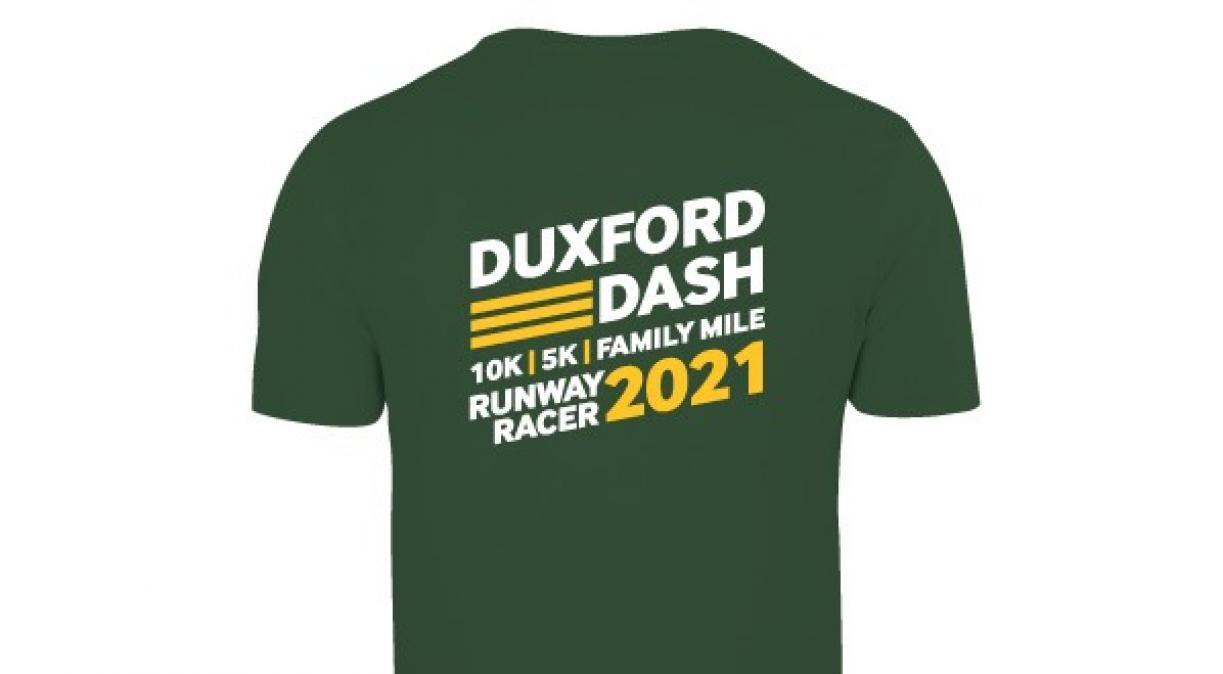 Duxford Dash 2021 T-shirt (back)