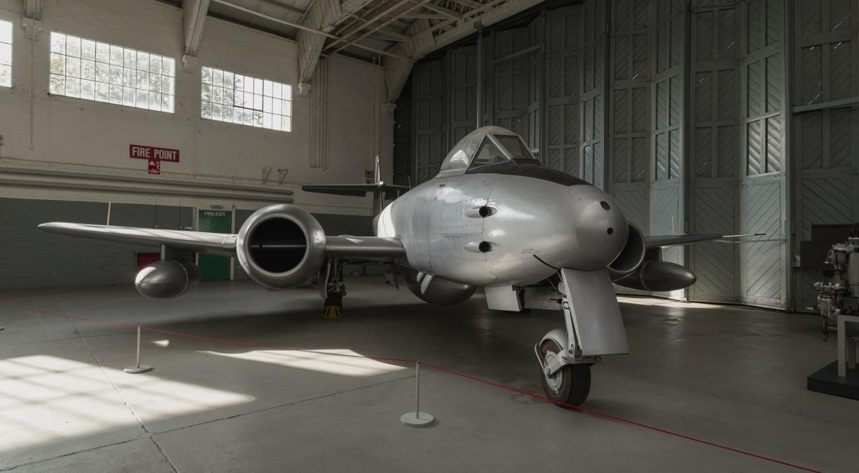 Gloster Meteor at IWM Duxford