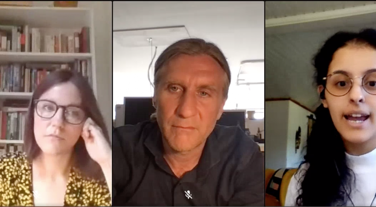 Iris Veysey, David Cotterrell & Asma Khalifa