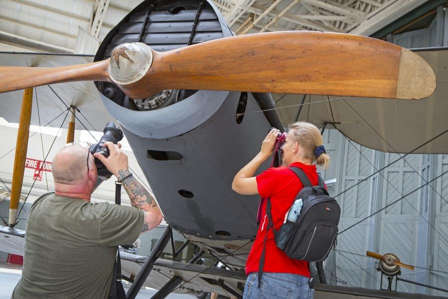 IWM Duxford Photography Day, Photographers on location