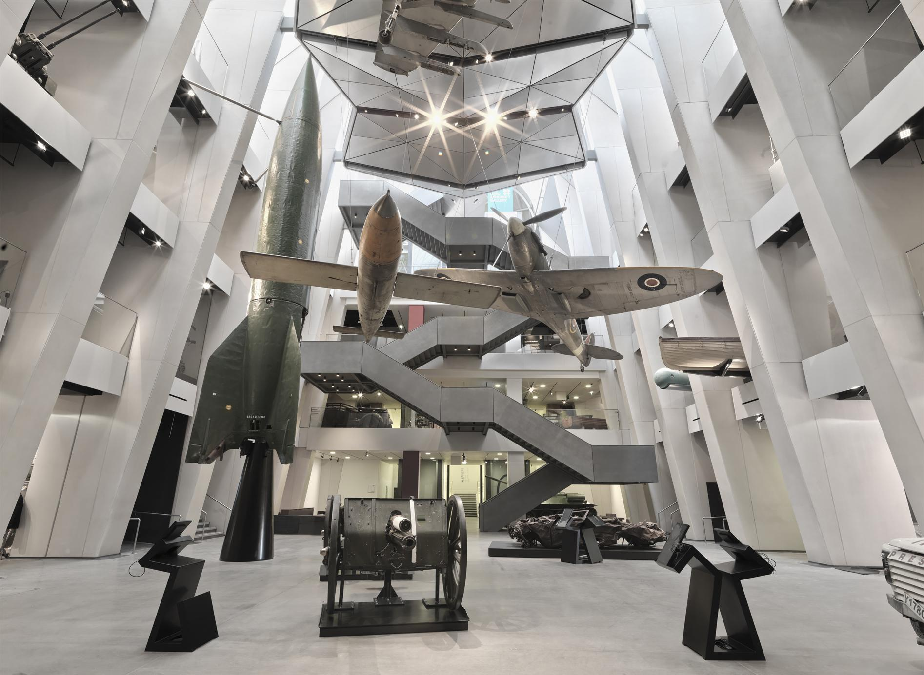 London Imperial War Museum Cafe