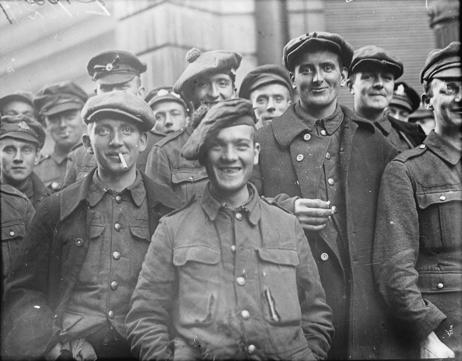 British POWs reach Tournai