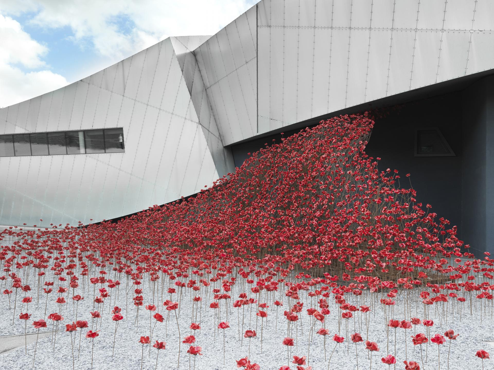 © IWM Poppies: Wave at IWM North, Manchester