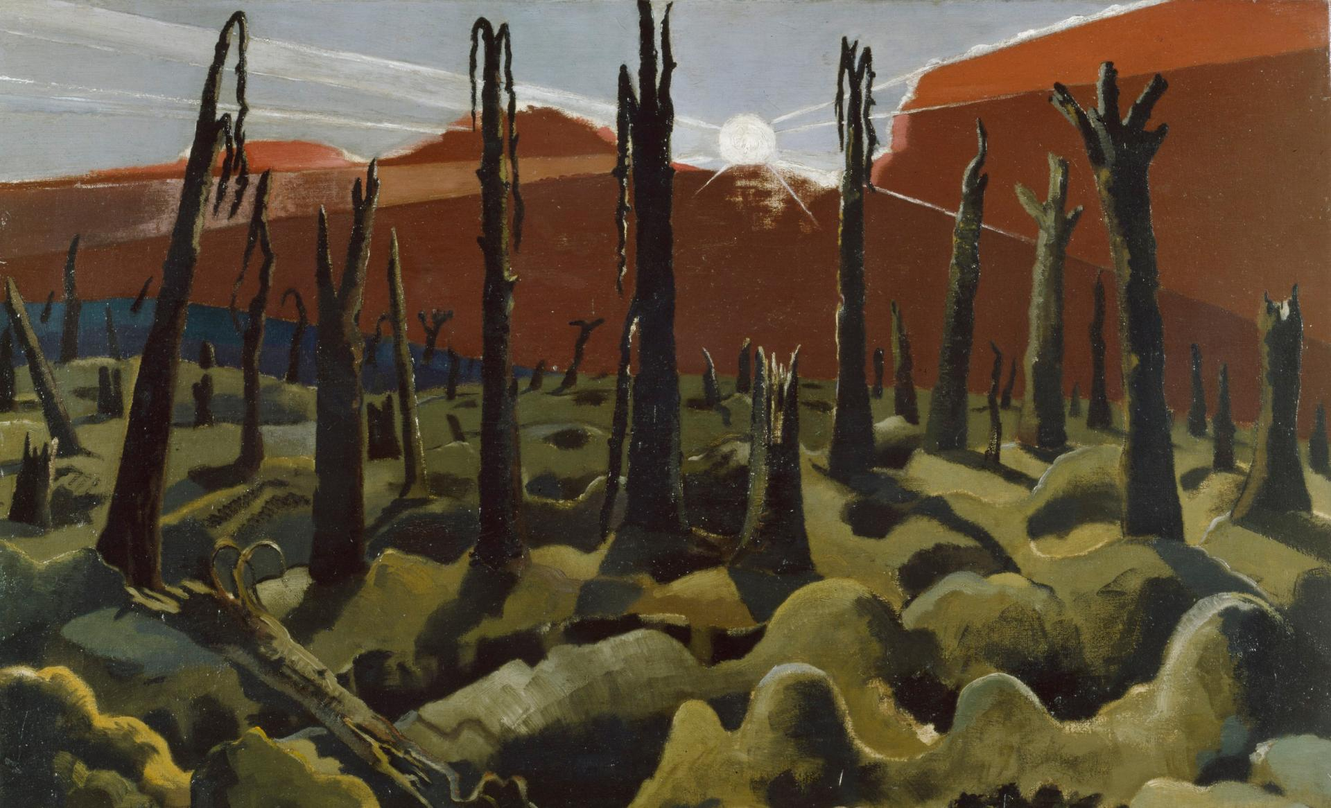 We Are Making a a New World by Paul Nash IWM ART 1146