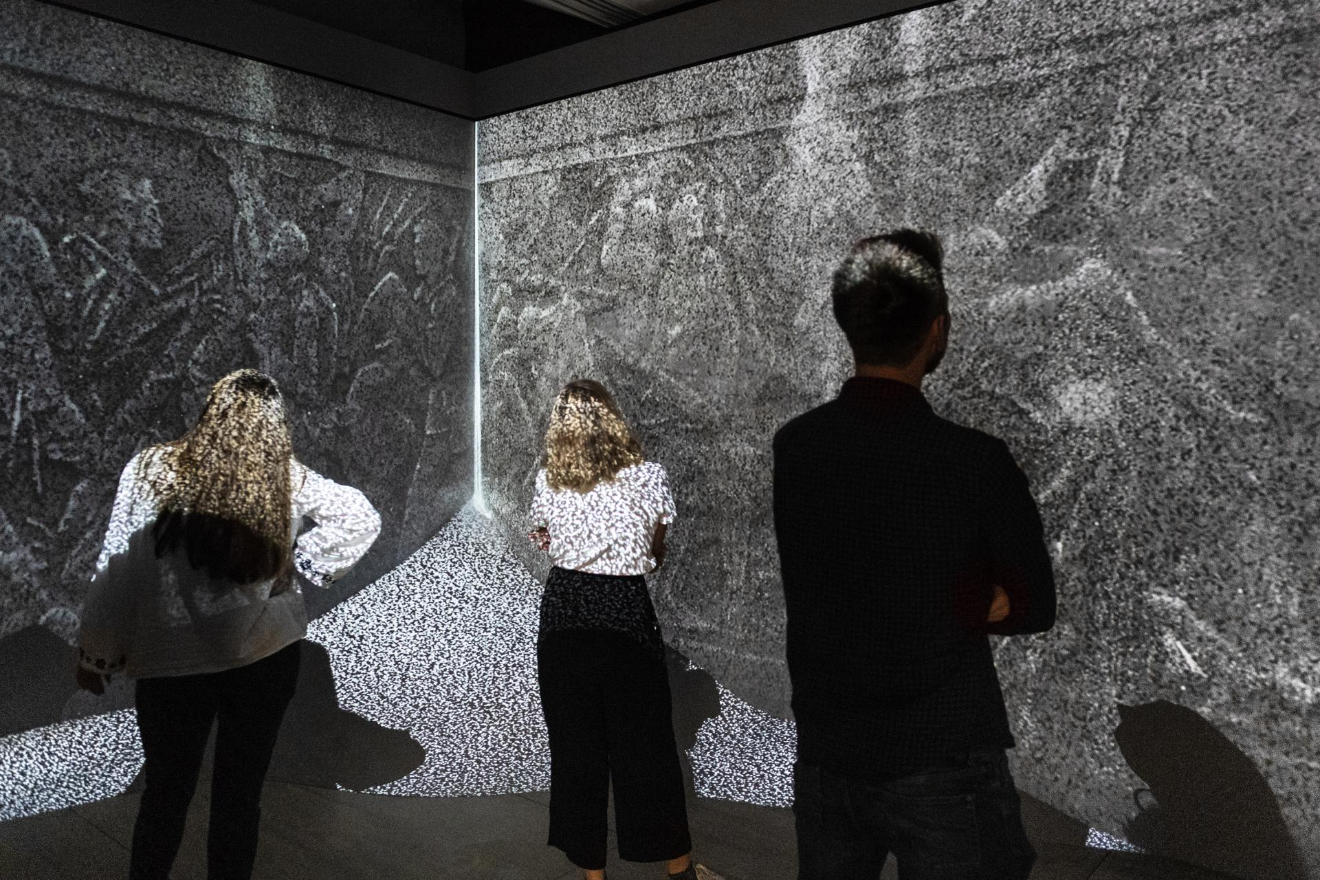 Installation view of Moments of Silence at IWM London