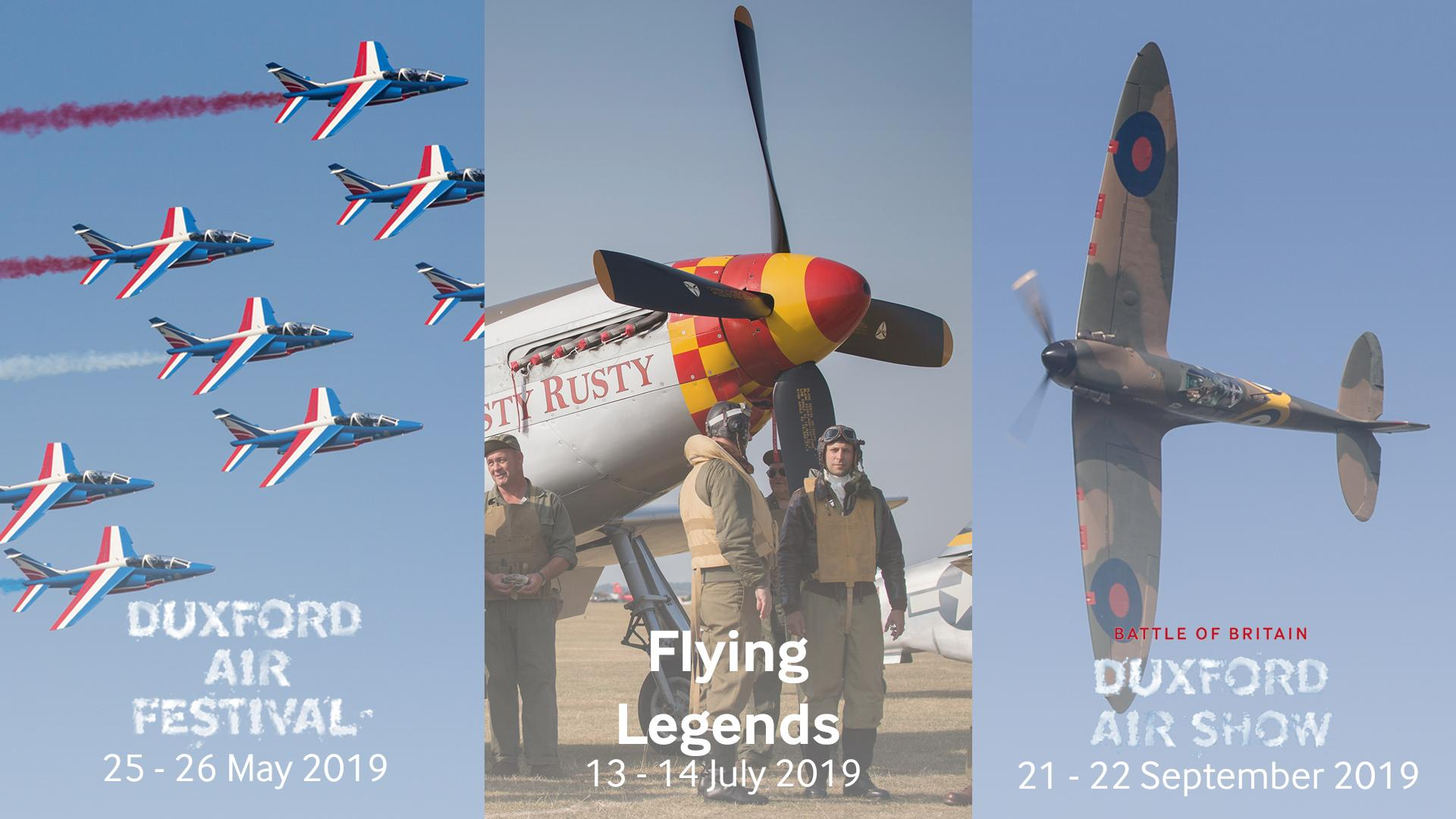 2019 Air Show Date Announcement
