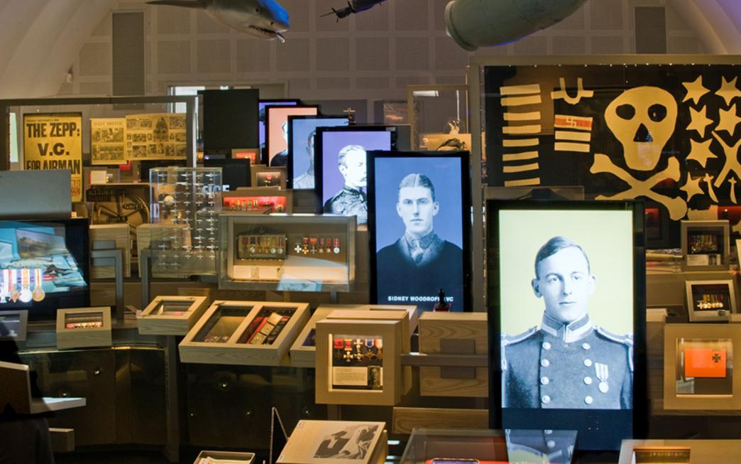 Displays in the Lord Ashcroft Gallery: Extraordinary Heroes