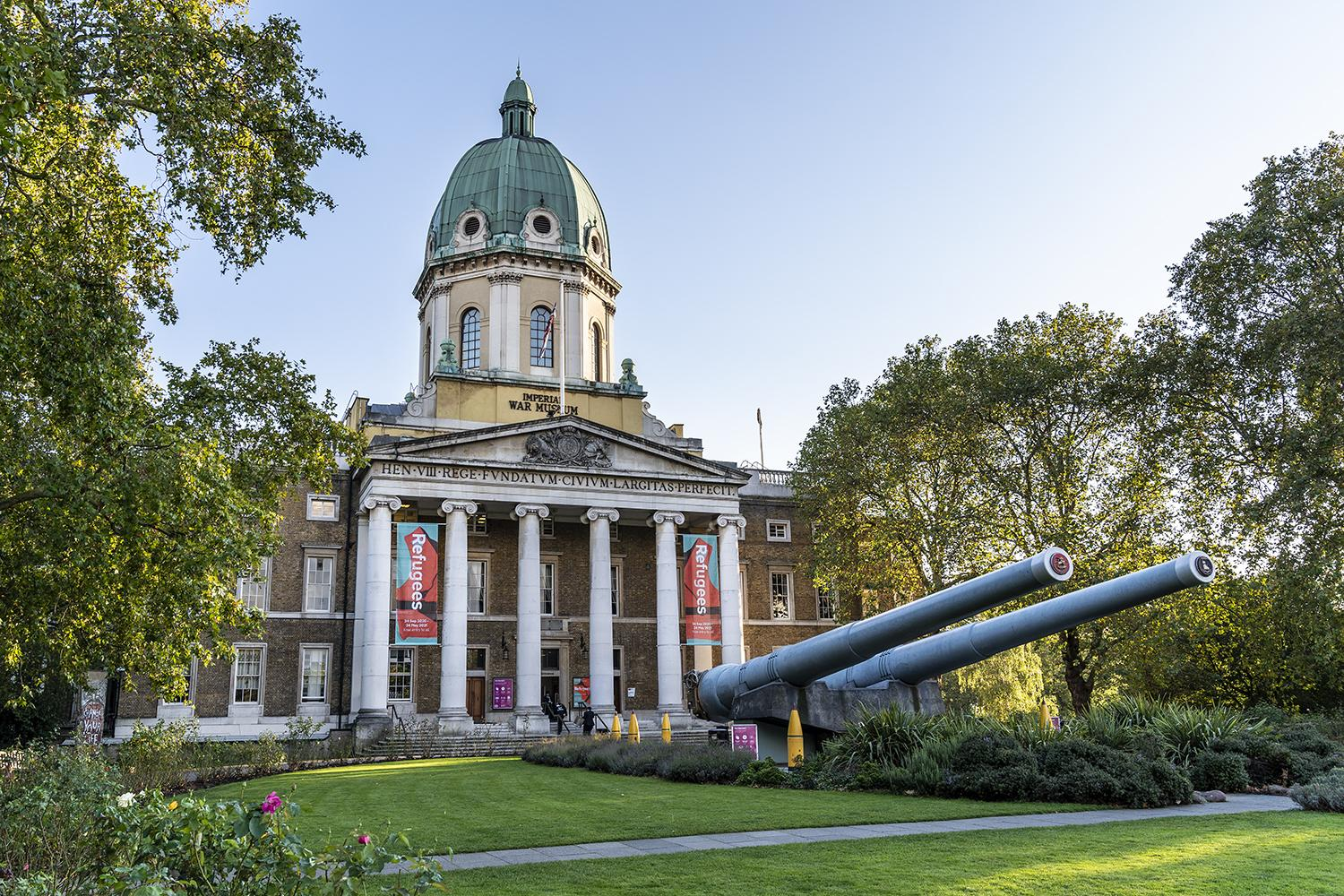 Exterior of IWM London