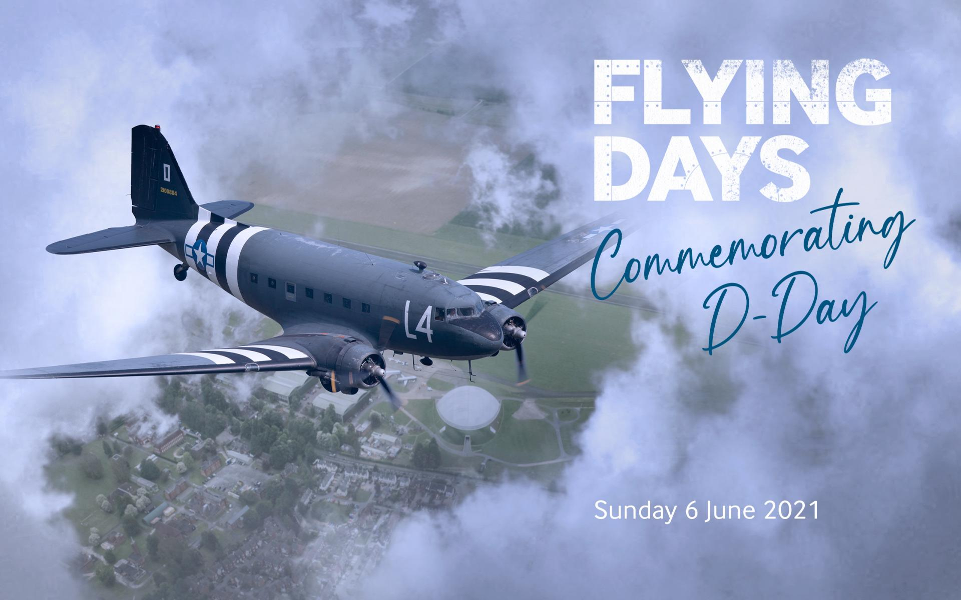 C-47 and Flying Days Commemorating D-Day title