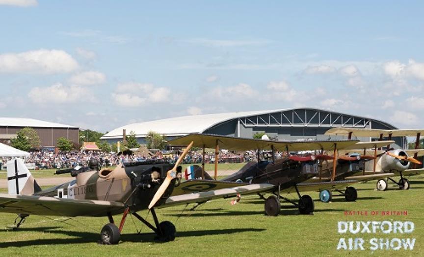 Great War Display Team at Duxford Air Shows
