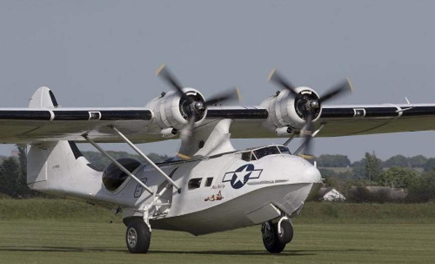 PBY-5A Catalina at IWM Duxford