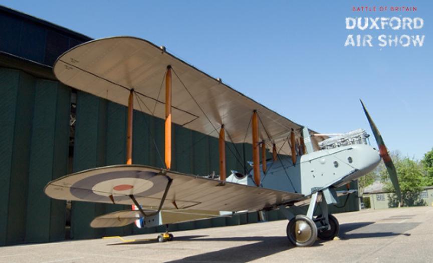 AIRCO DH9 at IWM Duxford