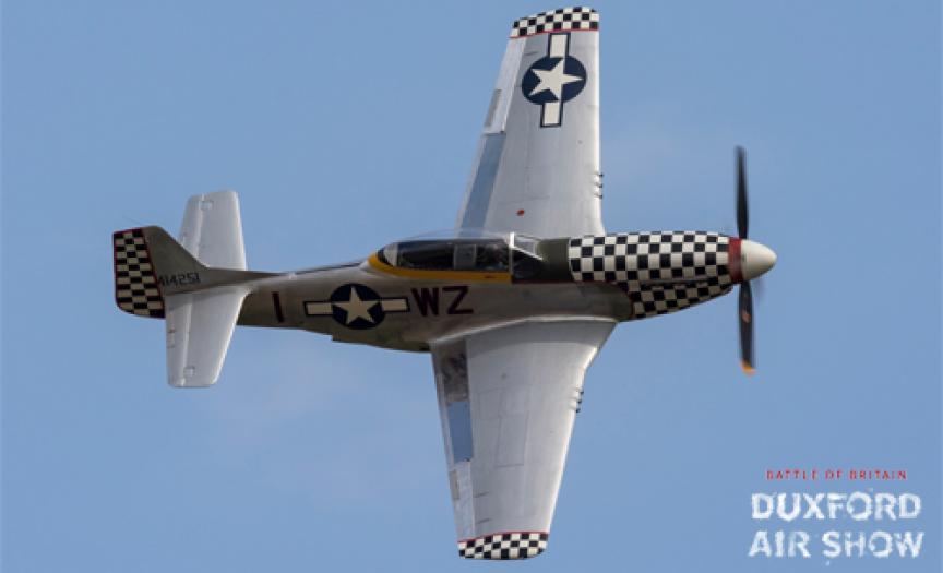 TF-51 Mustang at Duxford Air Shows