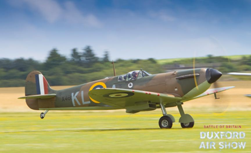 Spitfire Mk.I X4650 at Duxford Air Shows
