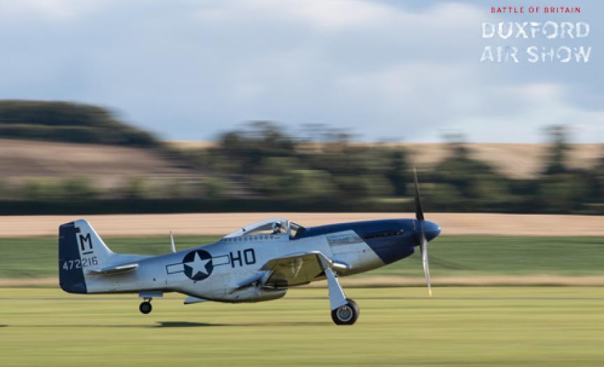 P-51D Mustang Miss Helen at Duxford Air Shows