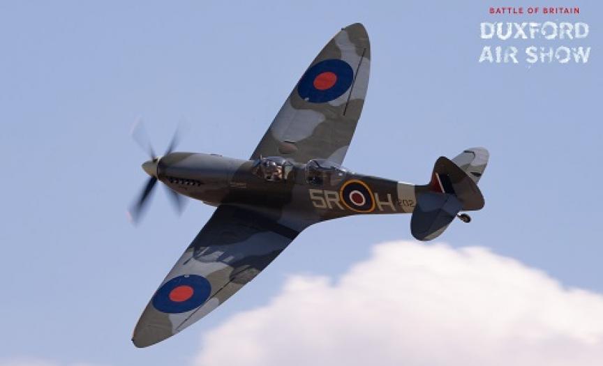 Spitfire T9 PV202 ARC at Duxford Air Shows