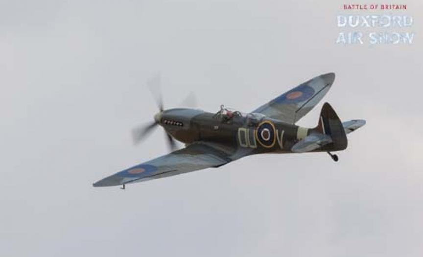 The Grace Spitfire at Dxuford Air Shows