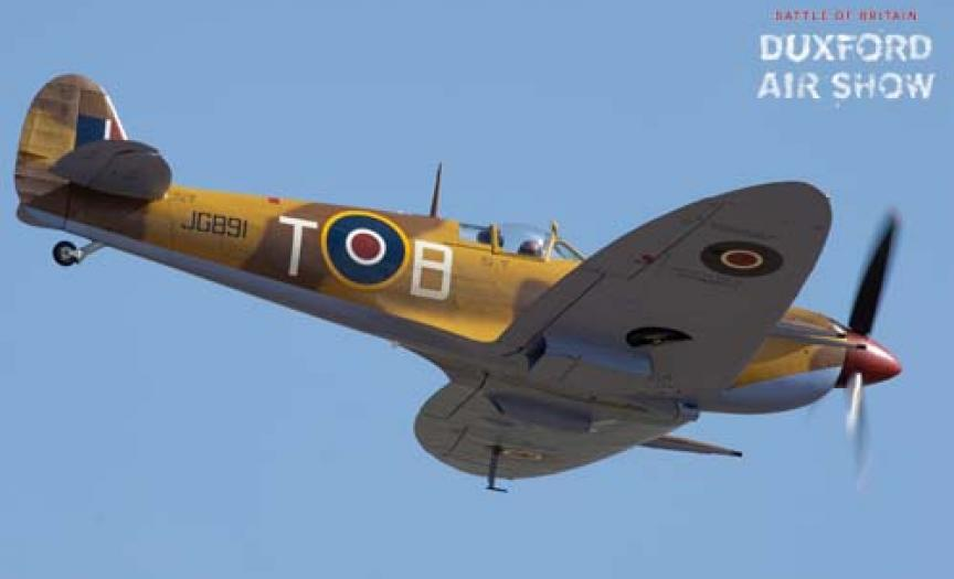 Spitfire Mk.Vc JG891at Duxford Air Shows