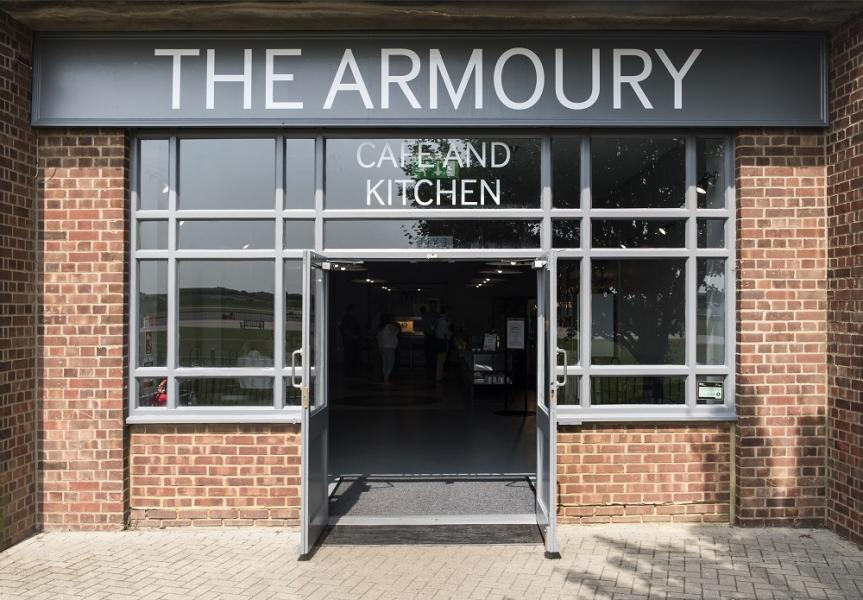 The Armoury Cafe at IWM Duxford