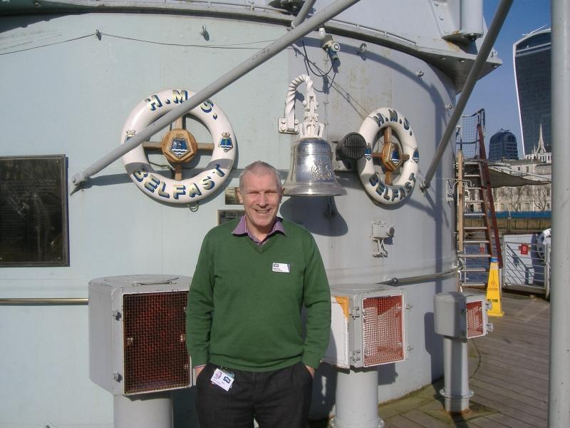 Kevin - Chief Yeoman on HMS Belfast