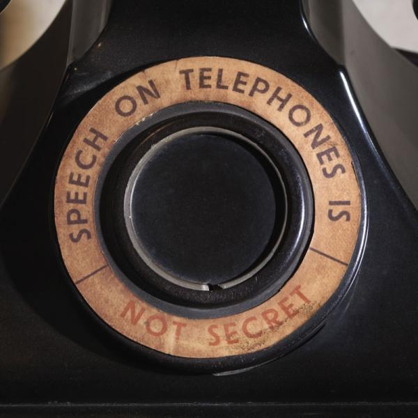 Telephone from General Ismay's room in Churchill War Rooms. © IWM SITE CWR 617.