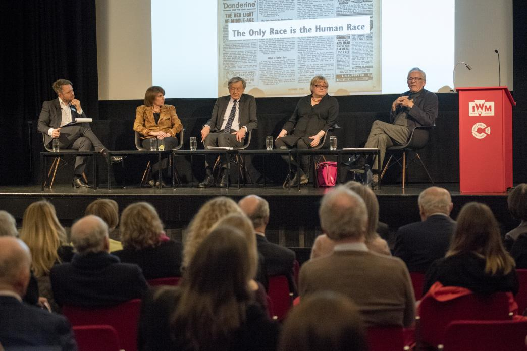As part of our lecture series, Patrons and their guests were invited to a panel discussion featuring Lord Alf Dubs and Sir Eric Reich, discussing new perspectives on Kindertransport and how its themes still resonate today