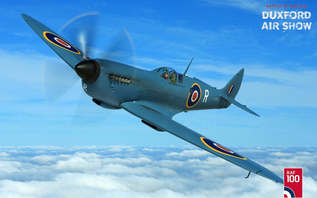 Spitfire PRXI Flying