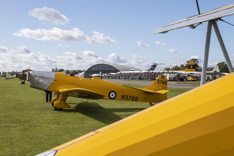 Miles Magister at Duxford Battle of Britain Air Show 2018