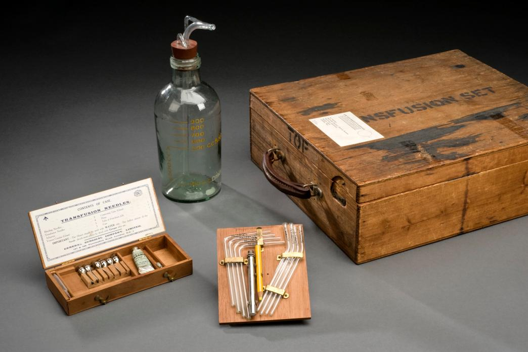 Blood transfusion apparatus, United Kingdom, 1914-1918