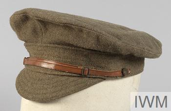 The standard Service Dress cap prescribed for wear by all non-commissioned ranks of the British Army from 1905