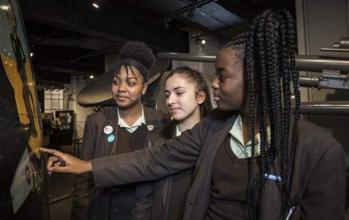 Pupils visit IWM London