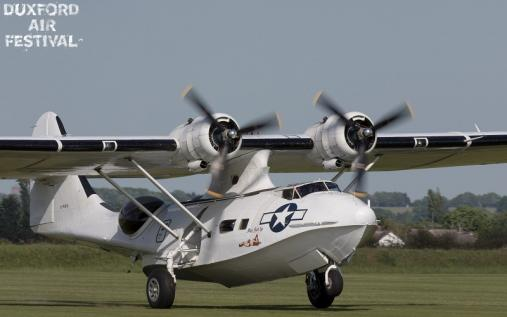 Catalina at Duxford Air Shows