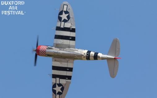 P-47D Thunderbolt at Duxford Air Shows 2018