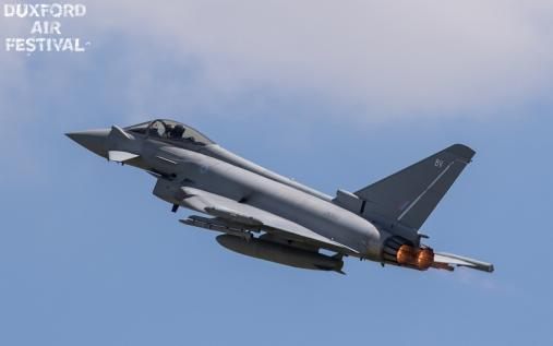 Typhoon at Duxford Air Shows