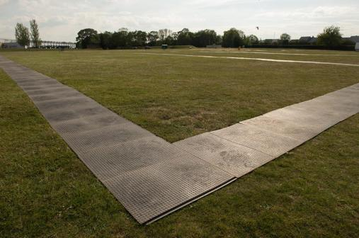 Access pathways at Duxford Air Shows