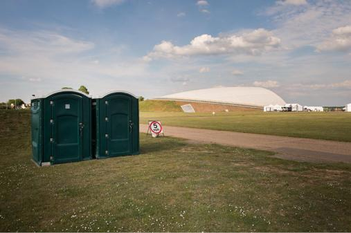 Accessible toilets at Duxford Airshows
