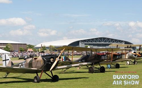 Great War Display Team at Duxford Air Shows