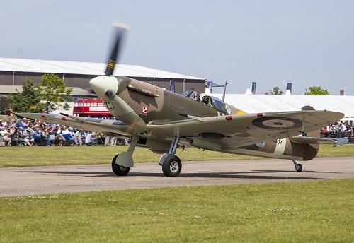Spitfire Mk.Vb owned by Historic Aircraft Collection