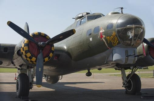 B-17 Sally B as Memphis Belle at Duxford Air Shows