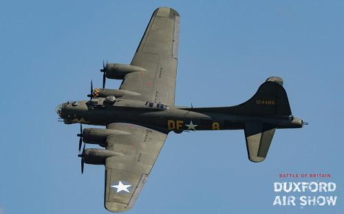 B-17G Flying Fortress Sally B at Duxford Air Shows