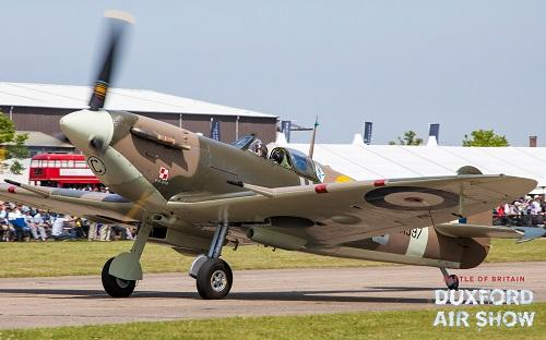 Spitfire Vb at Duxford Air Shows