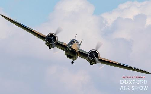 Blenheim Mk.I at Duxford Air Shows