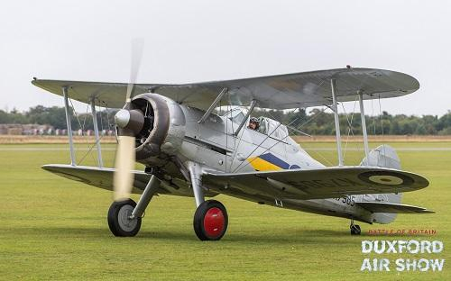 Gloster Gladiator Mk.I at Duxford Air Shows