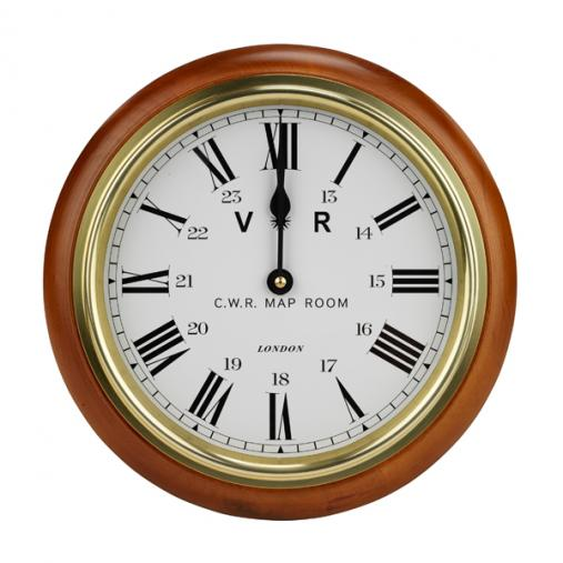 Map Room Clock product photograph from IWM Shop