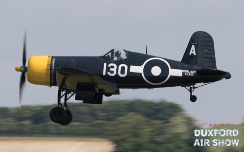 Corsair at Duxford Air Shows