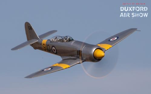 Hawker Sea Fury T20 at Duxford Air Shows
