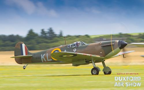 Spitfire Mk.I X4650 at Duxford Air Shows