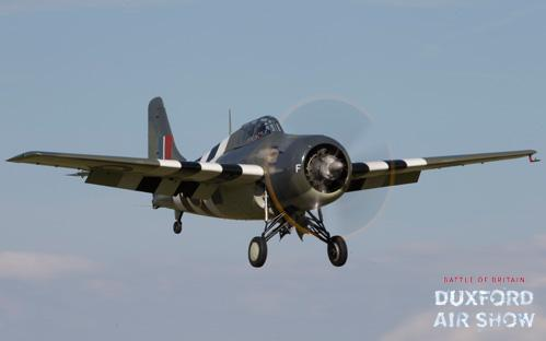 Wildcat at Duxford Air Shows